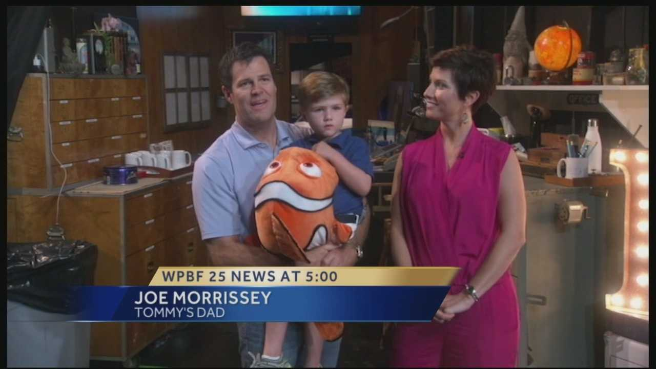 WPBF 25 had some local flavor on The Ellen DeGeneres Show Monday -- 3-year-old Palm Beach Gardens resident and golf prodigy, Tommy Morrissey! We caught up with Tommy and his family in an exclusive interview to share the excitement of being guests on the national talk show!