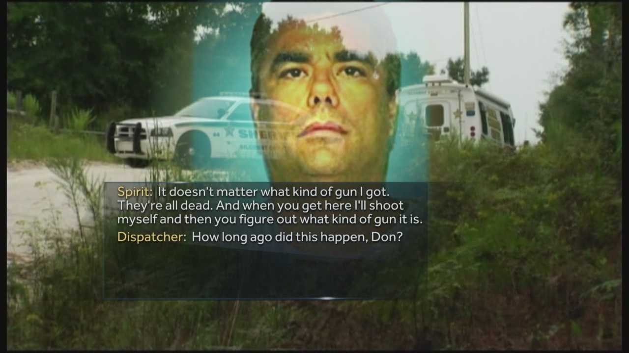 A just released 911 call reveals a disturbing confession following last week's horrific murder-suicide in Bell, Florida. Don Spirit shot and killed his daughter and six grandchildren -- then called 911 before shooting himself.