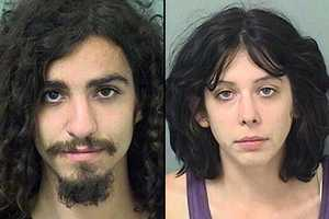 Devin Thunhorst, 26, and Nicole Rains, 26, are facing charges of lewd or lascivious exhibition, indecent exposure, according to the Boca Raton Police arrest report.
