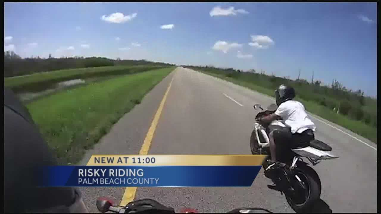 Authorities have warned motorists of a pack of motorcycle riders who are causing problems on area roads and highways. It's happening day and night. Erin Guy has the report.