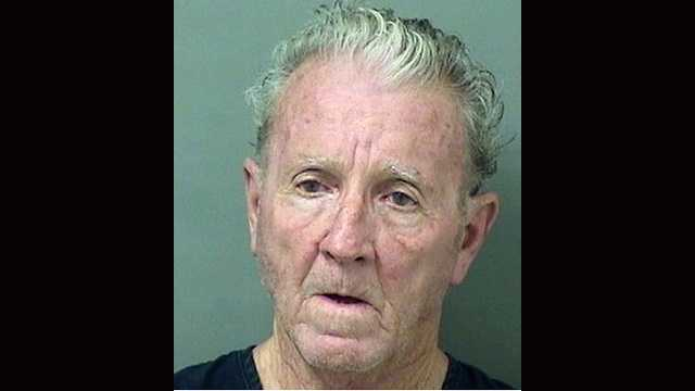 Charles Croghan, 72, is charged with attempted murder, according to the Palm Beach police.