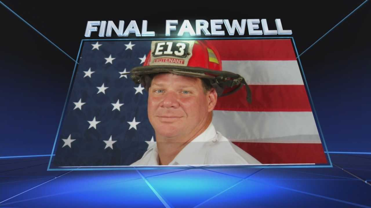 Fort Lauderdale firefighter laid to rest
