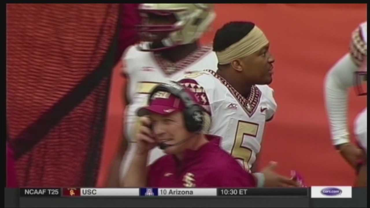 Did Heisman trophy winner Jameis Winston sign autographs for money? An investigation is underway and if it is true, Jamie Winson could be suspended for the rest of the season. Chris Emma has the report.