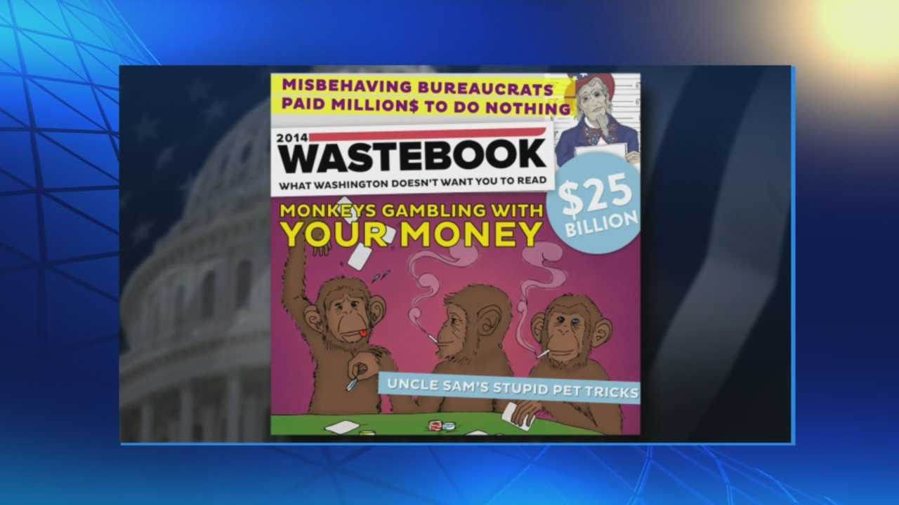 Questionable spending by U.S. Government highlighted in annual 'Wastebook'