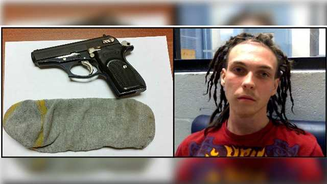 Spencer Vient, 17, of Port St. Lucie, was arrested for possession of a weapon on school property, possessing a weapon with an altered serial number and resisting an officer, according to Sheriff Mascara.