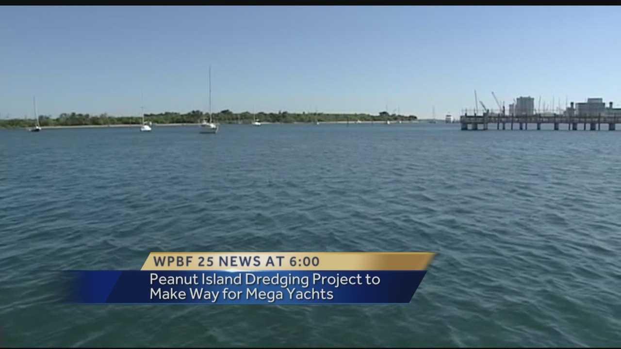 Dredgin project planned near Peanut Island