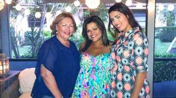 My mom Felicita and sister Cristina.