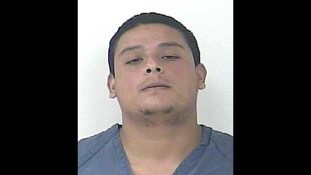Luis Antonio Velaquez is facing charges for possession of Marijuana under 20 grams.