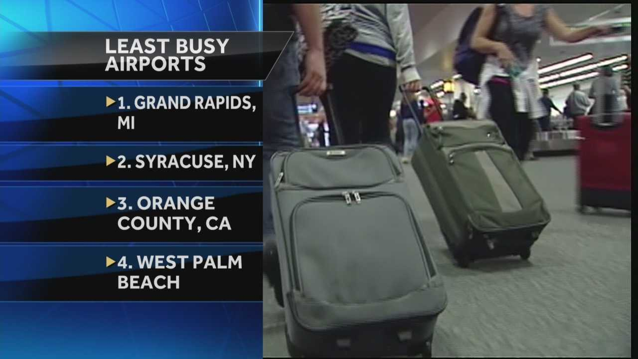 Less than two weeks before the start of the busy holiday travel season, people in South Florida can find comfort knowing their hometown airport might be the perfect spot to start a stress-free journey. Chris McGrath has the story.