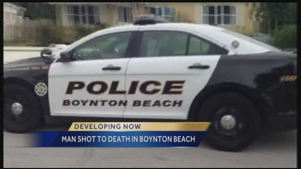 Boynton Beach police are investigating a deadly, early morning shooting. Investigators said someone spotted the body of a man in a yard along Mentone Road at about 6:30 a.m.