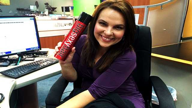 "WPBF 25 Anchor/Reporter Stephanie Berzinski's favorite things:""My Big Sexy hair spray... It completes my Jersey girl appearance. The higher the hair, the closer to God and the better for TV purposes. Keeps my fly-aways in place!"""