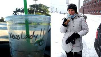 "WPBF 25 Anchor/Reporter Tory Dunnan's Favorite Things:"" Iced, venti, nonfat, two equal, latte from Starbucks…. anyone who has ever worked with me has it memorized for better or for worse."""