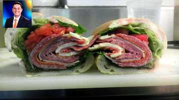 WPBF 25 Anchor/Reporter Chris Emma's favorite things:#23 Italian combo from Manzo's Deli on Palm Beach Lakes