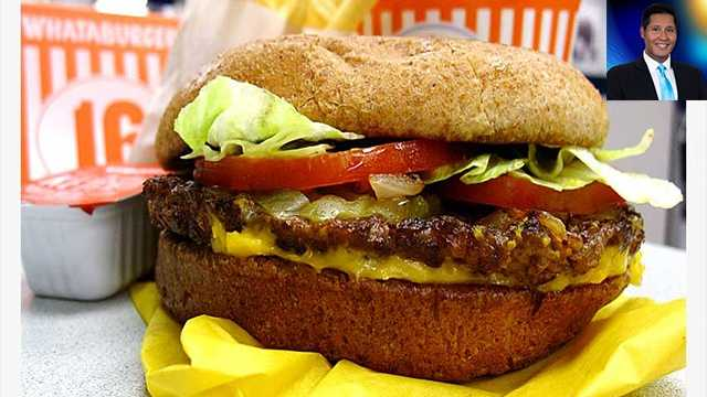 WPBF 25 Meteorologist Cris Martinez's favorite things:Whataburger