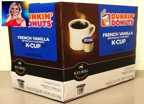 WPBF 25 Meteorologist Taylor Grenda's favorite things:Dunkin' Donuts French Vanilla K-Cups