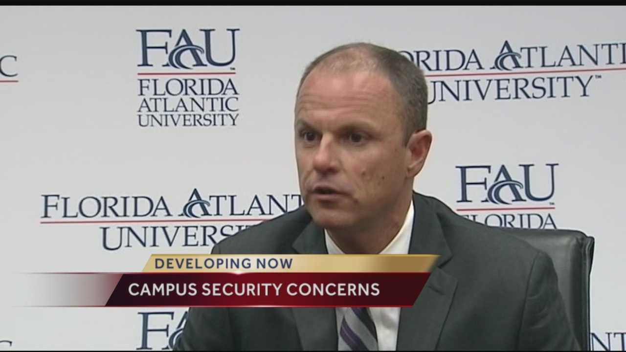 When Florida Atlantic University police chief Charles Lowe heard about the shooting at Florida State University, he wasted no time reaching out to his friend and colleague who happens to be the police chief.