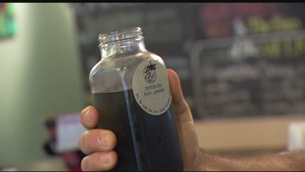 When you think of charcoal, your mind dreams of burgers and backyard barbecues. But now, some people are turning to activated charcoal for juicing and detoxifying. It's a new trend and a dark concoction that's hit the shelves right here in South Florida. Tory Dunnan has the special report.