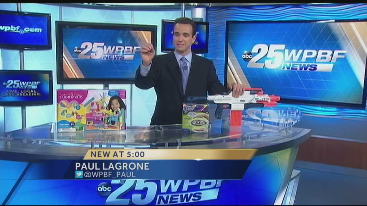 As you plan your holiday shopping -- we are helping you out by putting this year's hottest toys to the test! Paul Lagrone shows you how the top toys fared with the toughest group of critics he could possibly find! [Click here to see fill list.]