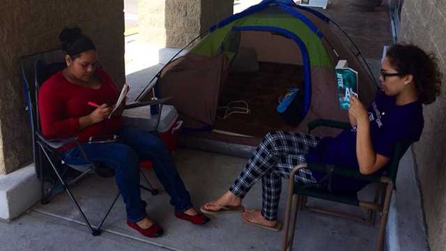 Early Black Friday shoppers are already lining up to be the first ones to score big deals.