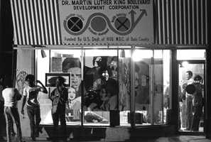 Dr. Martin Luther King Center in Miami on Feb. 15, 1972.