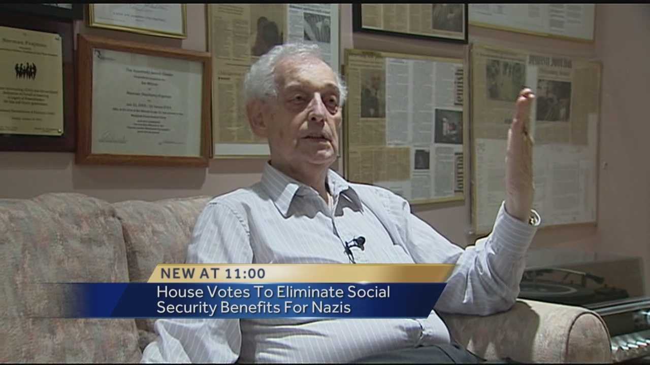 A bill was passed in the Florida House Tuesday eliminating Social Security benefits for Nazis. This legislation is especially meaningful for one local  Holocaust survivor. Whitney Burbank has the story.