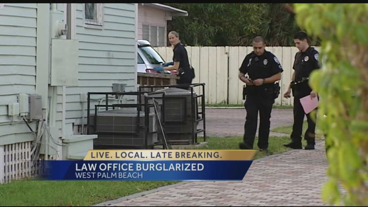 West Palm Beach law officer burglarized