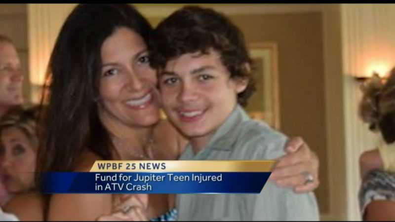 A fund has been set up for the Jupiter teen injured in an ATV crash.