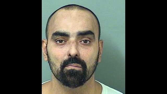 Dario Antonio Rubiera Jr., 48,is facing charges of lewd and lascivious exhibition.