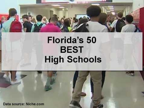 The following is a 2015 ranking of high schools in Florida, based on a report conducted by Niche. High schools were evaluated on dozens of key statistics and 4.6 million opinions from students and parents.