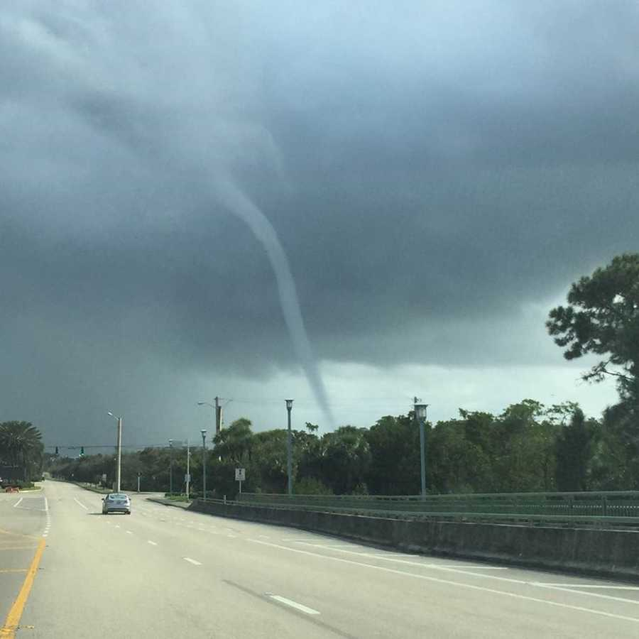 A waterspout was spotted Friday in Palm Beach Gardens and Juno Beach. See images sent in by our viewers! Be sure to 'Like' our WPBF First Alert Weather Facebook page.
