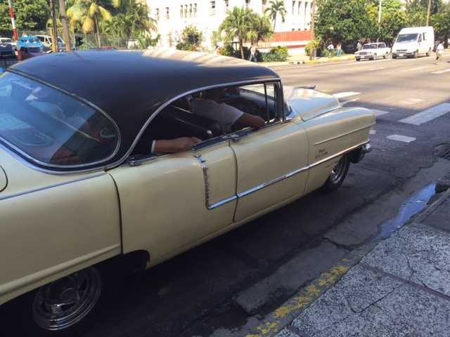 Another 50s car.