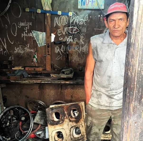 Bicycle repair shop in Havana, Cuba. Open 24 hours. Photo via Travis Sherwin on Instagram.
