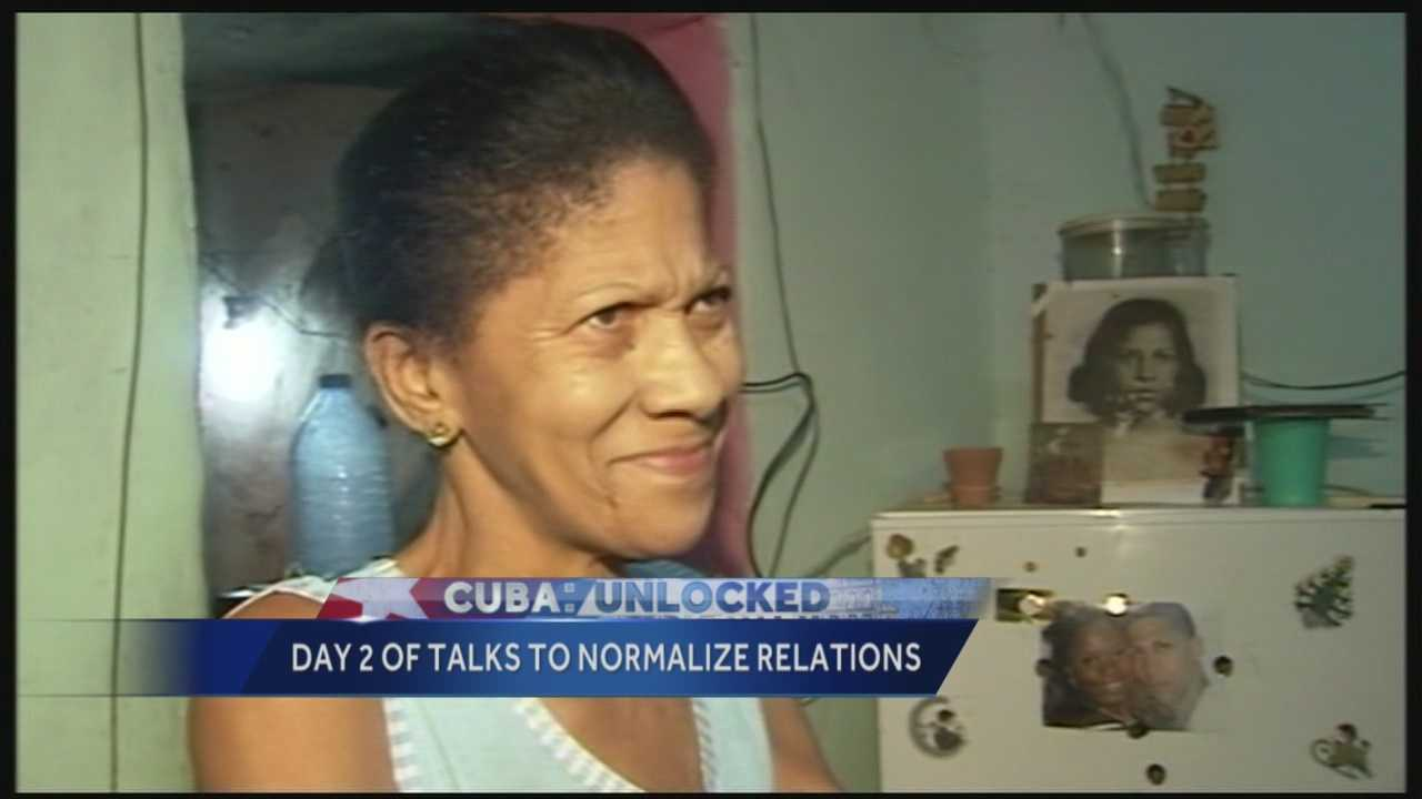 While Cuba and US diplomats discuss a thaw of their 50+ year frozen relationship,  we show you the lives many Cubans are forced to live.