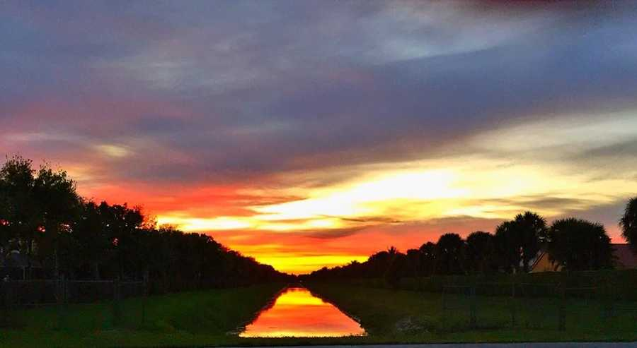 "On Monday morning, WPBF 25 News Mornings anchor Stephanie Berzinski asked our viewers on social media to send in, comment, and post their sunset photos from Sunday evening across South Florida! Click though and check out these gorgeous, fiery skies! Be sure to ""Like"" us on Facebook!"