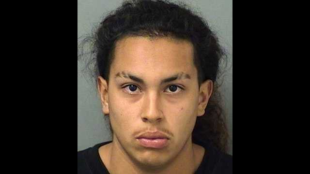Ricardo Carter, 18, faces charges for robbery.