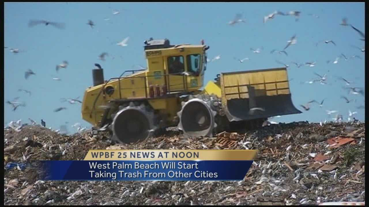 A deal has been reached in a decision on Palm Beach County importing trash from other cities. Chris Emma has the latest developments.