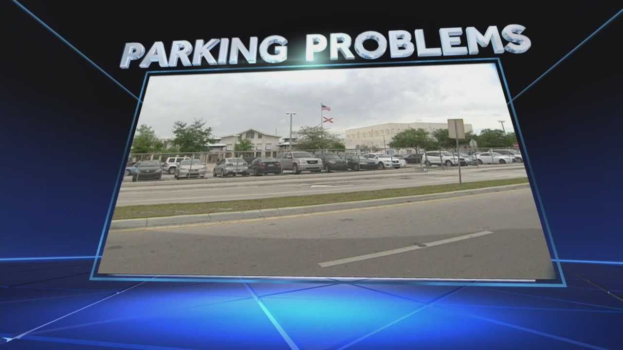 Parking problems are leading to local students getting ticketed for going to class. Ted White reports.