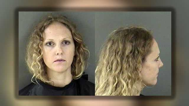 Amber Maltese has been charged with aggravated assault on a law enforcement officer, DUI and driving with a suspended license.