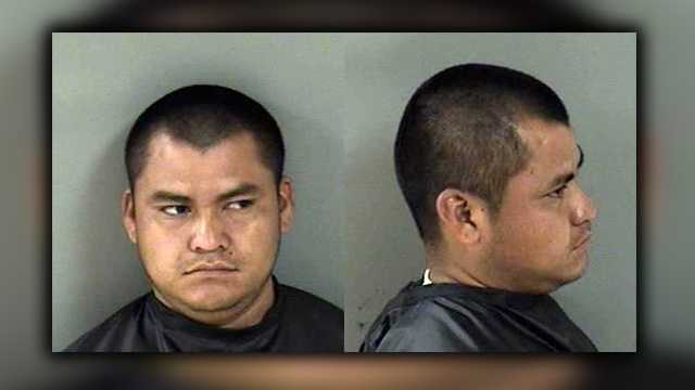 Ivan Guadalupehas been arrested for voyeurism and outstanding warrants from a different county.