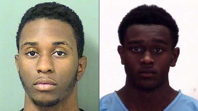 Left: Kenneth L. Belvin, 20. Right: Marquis Pierre-Louis, 15.