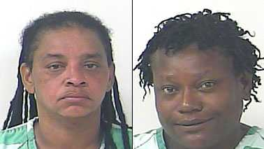 Left: Queena L. Price, 41. Right: JoAnn Haugabook, 50.