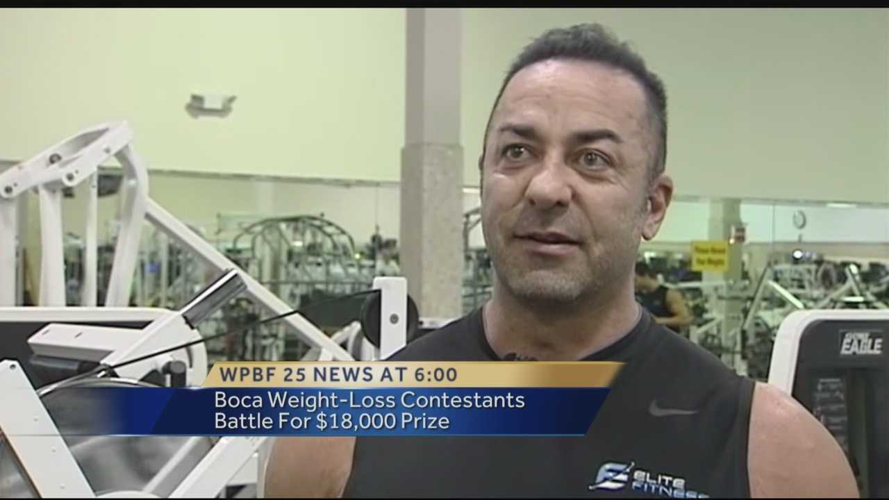 Inside the Fitness Now gym in Boca Raton, there's a special group of people who are working hard to push their limits. One woman and 11 men have all signed up for a 10-week weight-loss challenge. They each paid $1,500 to join.