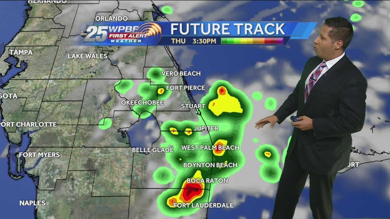 Cris Martinez' noon forecast update.