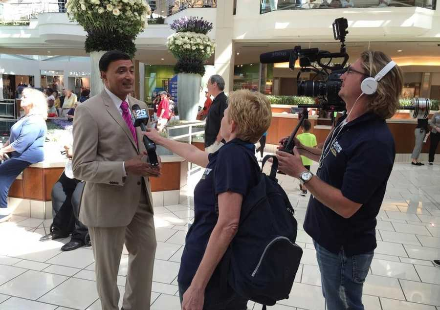 Photo via Dipnarine Maharaj MD: Getting interviewed for @WPBF25News #DrOzFest