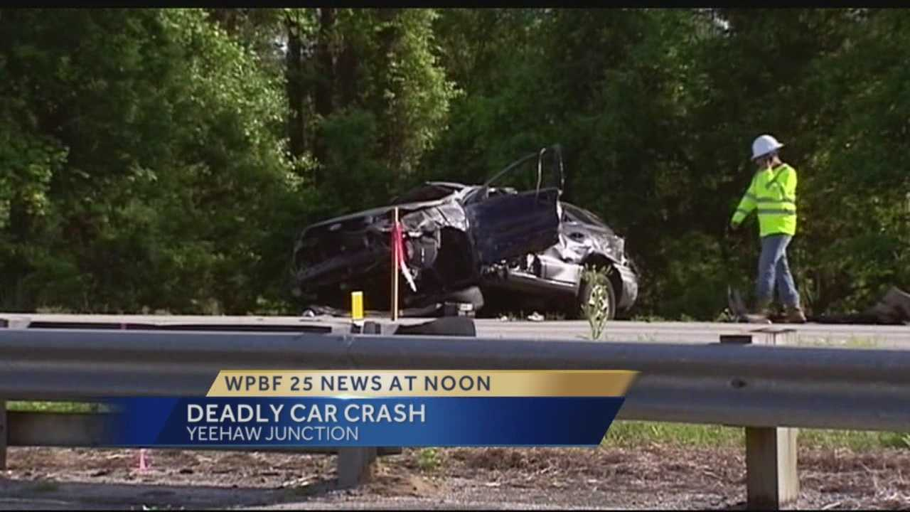 A driver was killed during an early morning rollover crash along Florida's Turnpike west of Vero Beach.