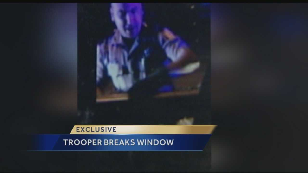 Herbert Lindsey got pulled over for speeding on I-95 at Palm Beach Lakes. Lindsey thought it was his legal right to refuse to roll down his window and not give troopers his ID. He thought wrong. The troopers ended up shattering his window, pulling him out and arresting him.