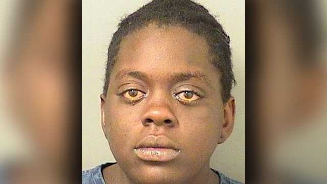 Qushanna Doby, 20, is facing charges of child neglect.