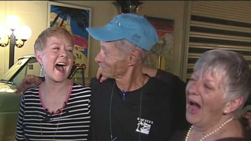 Two sisters reunited with their brother in West Palm Beach Thursday afternoon 60 years after they last saw each other.