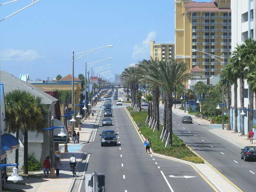 6. Daytona BeachPopulation: 61,779Unemployment: 6.1%Median income: $28,963Crime index: Worst 5% in Florida
