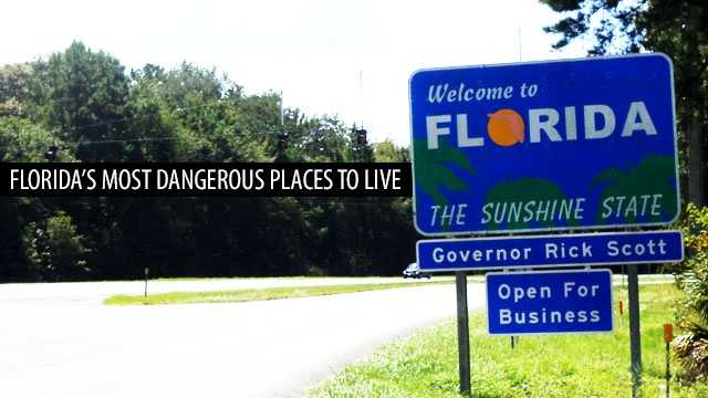The 10 most dangerous places to live in florida for 10 best cities in florida
